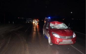 В воскресенье под Курском «Рено» сбил насмерть 35-летнего пешехода